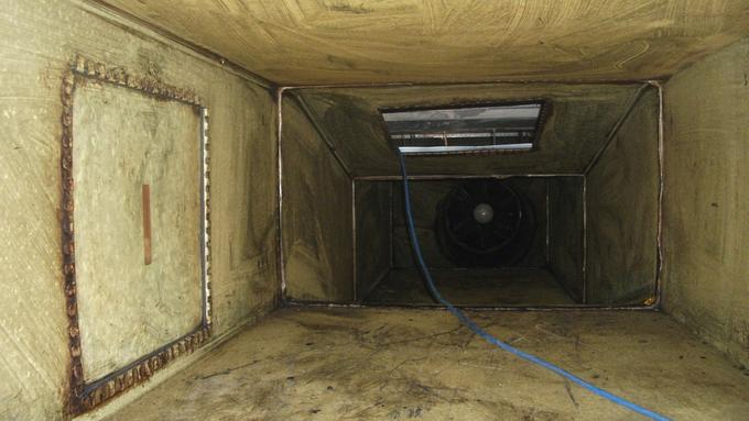 Grease Duct Cleaning Leeds and Sheffield - Before
