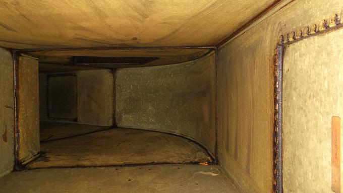 Grease duct Cleaning - Before